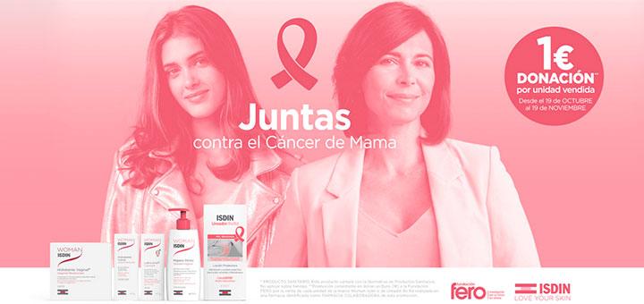 1€ de donación contra el cáncer de Mama con ISDIN