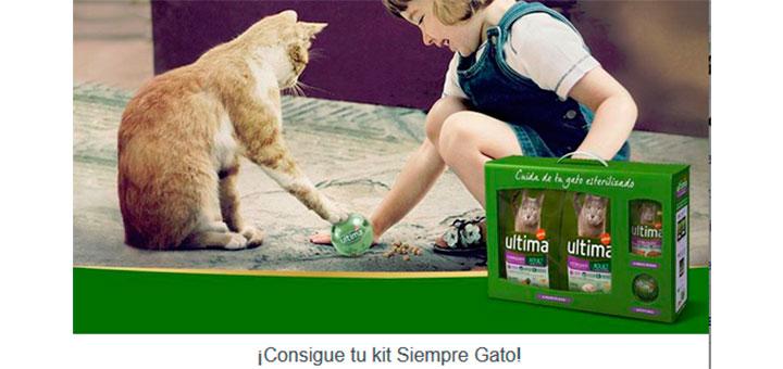 Consigue gratis un kit Ultima