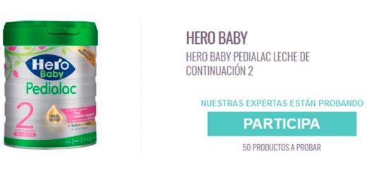 Dan a probar gratis Hero Baby Pedialac