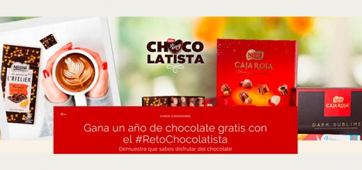 Gana un año de chocolate gratis con Nestlé
