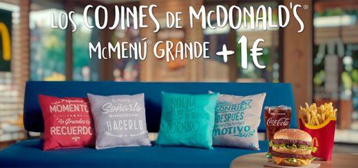Llegan los cojines de McDonald's a 1€