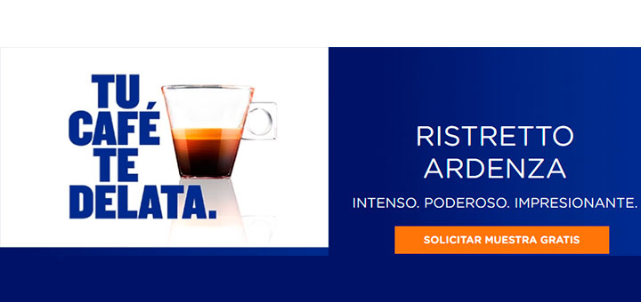 Muestras gratis de Café Ristretto Ardenza
