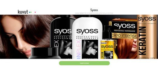 Prueba gratis productos Syoss