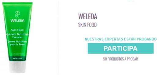 Prueba gratis Weleda Skin Food