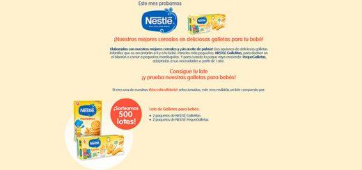 Sortean 500 lotes de galletas Nestlé para bebés