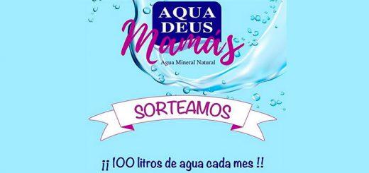 Aquadeus sortea 100 litros de agua cada mes