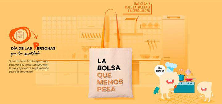 Consum sortean bolsas