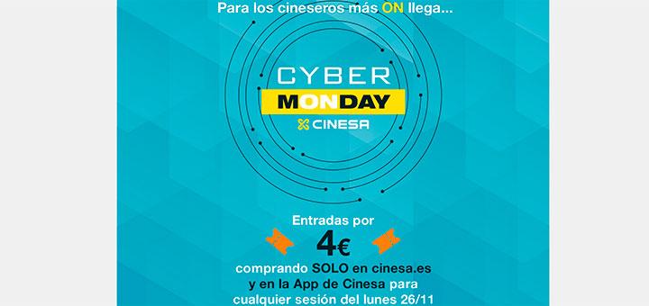 Este Cyber Monday entradas de cine a 4€ en Cinesa