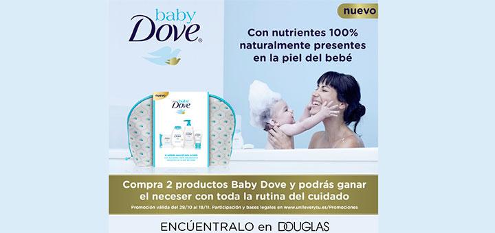 Gana un neceser de cuidado Baby Dove