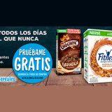 Prueba gratis cereales Nestlé