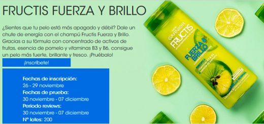 Prueba gratis Fructis Fuerza & Brillo