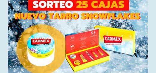Carmex sortea 25 cajas de la nueva edición especial