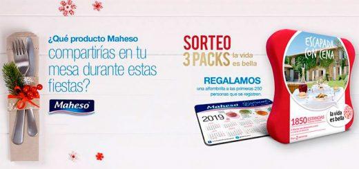 "Maheso sortea 3 packs ""La Vida es Bella"""