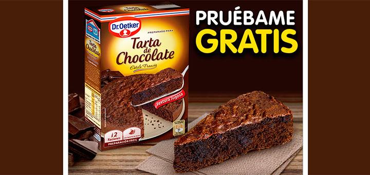 Prueba gratis Tarta de Chocolate Dr. Oetker