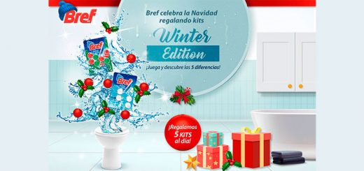 Sortean 5 kits de Bref Winter Edition cada día