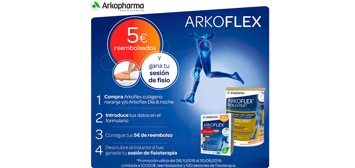 5€ de reembolso en Arkoflex