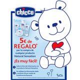 5€ de regalo con Chicco Natural Sensation