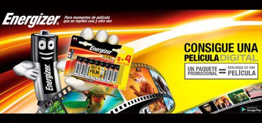 Consigue una película digital con Energizer