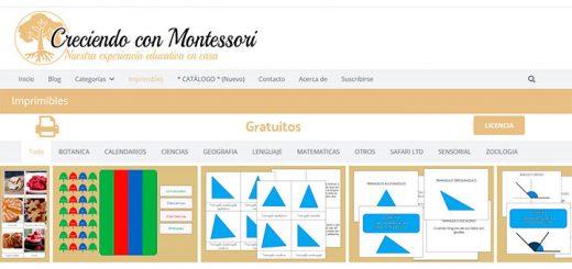 Disfruta de imprimibles gratis con Montessori