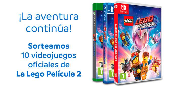 Mayoral sortea 10 videojuegos de La Lego Película 2