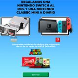 Nestlé Extrafino regala una Nintendo Switch al mes