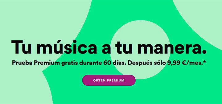 Prueba Spotify Premium gratis