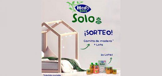 Sortean 20 lotes Hero Baby Solo Alimentación infantil 100% Eco