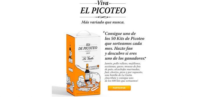 """Sortean 50 kits de Picoteo """"La Guita"""" cada mes"""