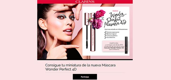 Consigue una muestra gratis de la Máscara Wonder Perfect 4D
