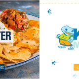 En Blue Frog te invitan a un starter o un Kids menu