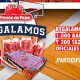 Fresón de Palos regala 1.000 balones y 200 tazas oficiales NBA