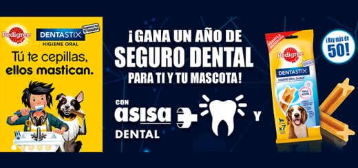 Gana un año de seguro dental con Pedigree