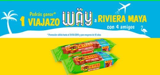 Gana un viaje a Riviera Maya con Donettes