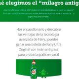 Gana una botella de Fairy Ultra Original con imán antigrasa
