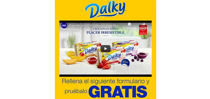 Prueba gratis el nuevo Dalky con yogur