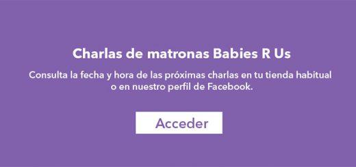 """Vuelven las charlas de Matronas Babies """"R"""" Us"""