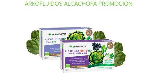 3€ de reembolso en productos Arkofluidos Alcachofa de Arkopharma