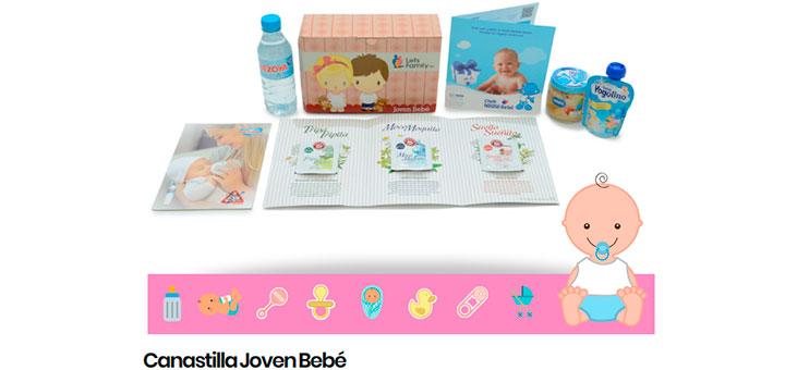 Gratis Canastilla Joven Bebé de Let's Family