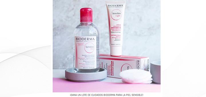 Gana un lote de cuidados Bioderma para la piel sensible