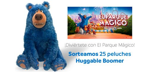 Mayoral sortea 25 peluches Huggable Boomer