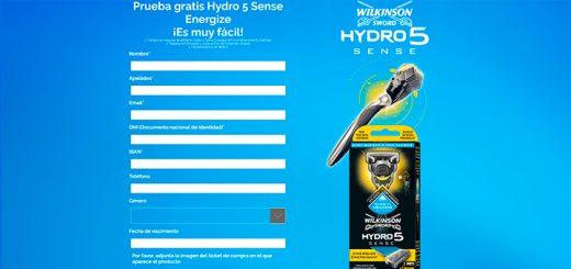 Prueba gratis Hydro 5 Sense Energize de Wilkinson Sword