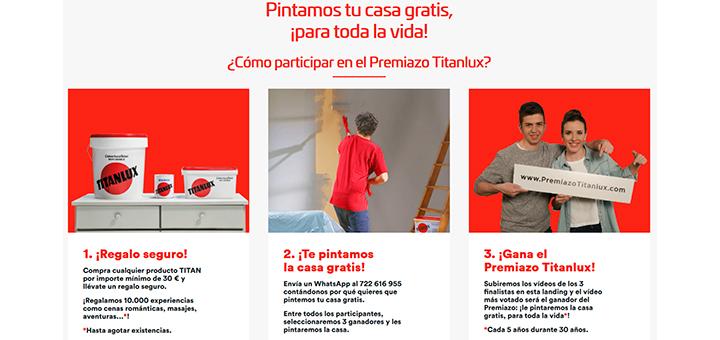 Titanlux pinta tu casa