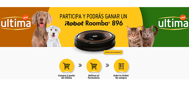 Gana un Roomba con Affinity Ultima