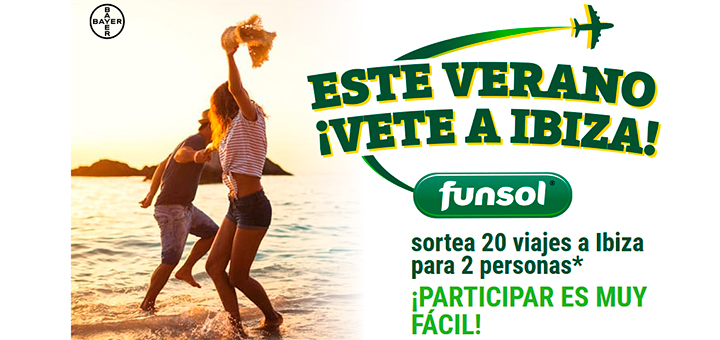Gana un viaje a Ibiza con Funsol
