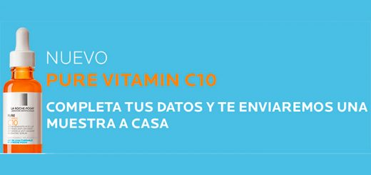 Muestras gratis de La Roche Posay Pure Vitamin C10