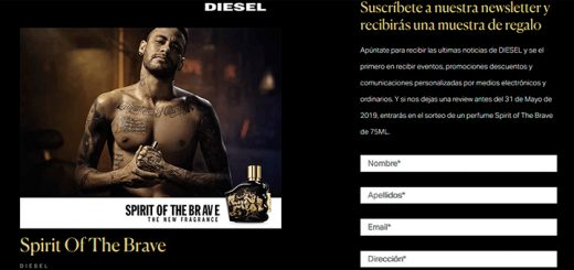 Muestras gratis de Spirit Of The Brave de Diesel