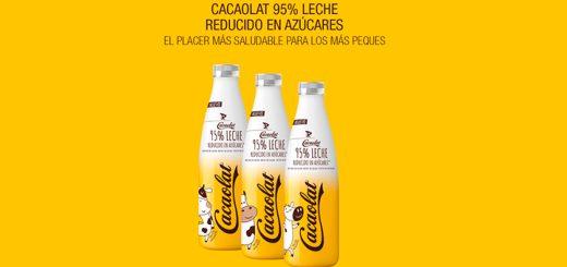 Prueba gratis Cacaolat 95% Leche