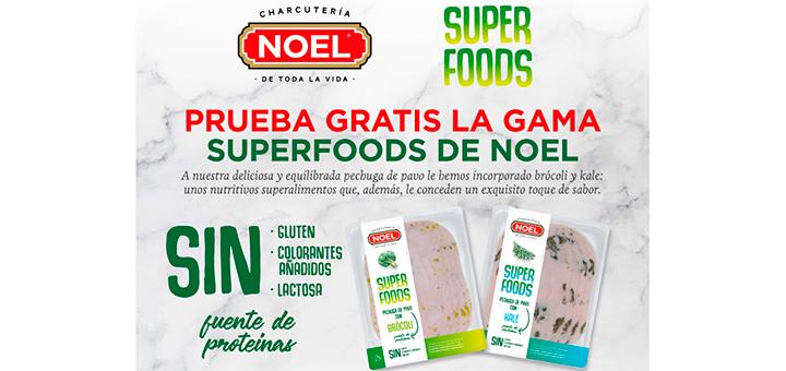 Prueba gratis la gama Superfoods de Noel