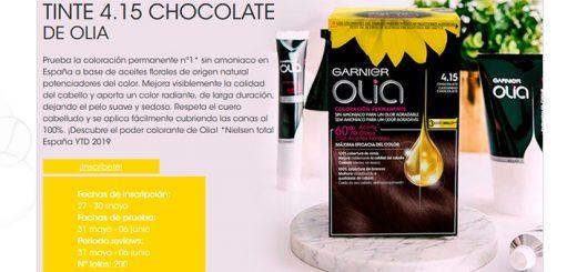 Prueba gratis Tinte Chocolate de Olia
