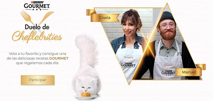 Purina regala deliciosas recetas Gourmet cada día